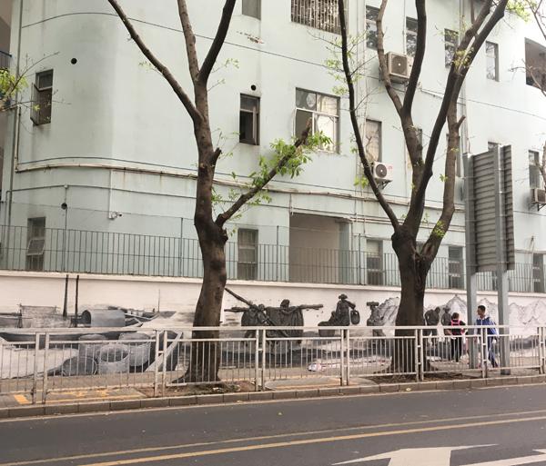 深圳东湾小学浮雕